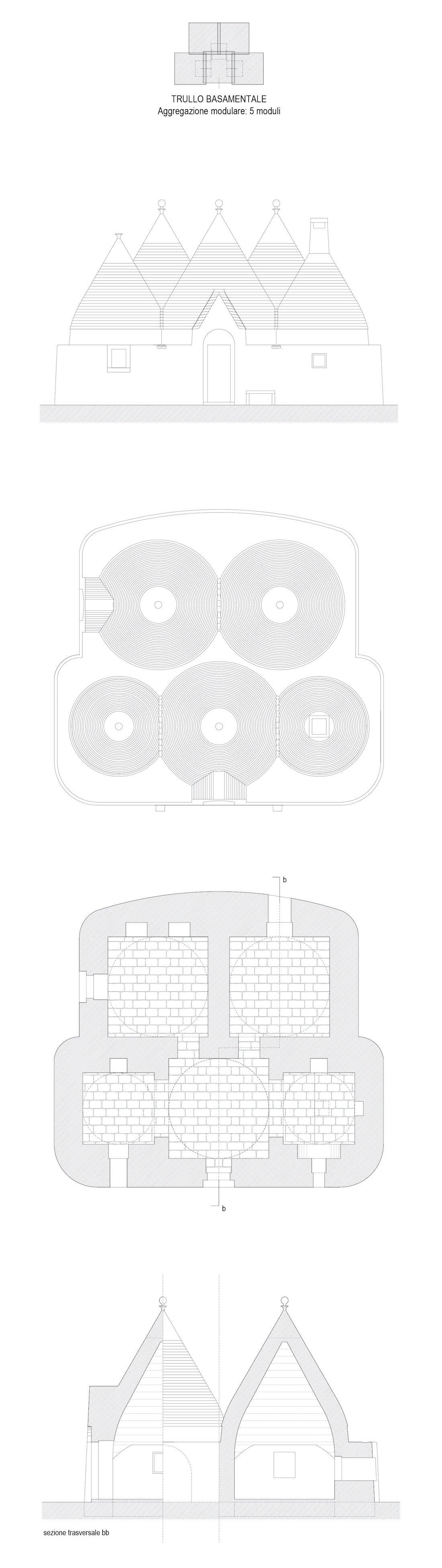 Studio tipologico trulli Cisternino 03