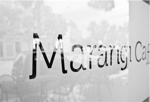 Corsaro Architetti progetto Bar Marangi