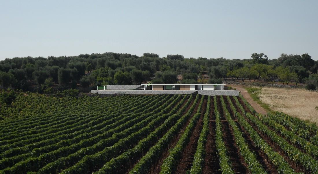 Corsaro Architetti progetto Casa Bellavista 01