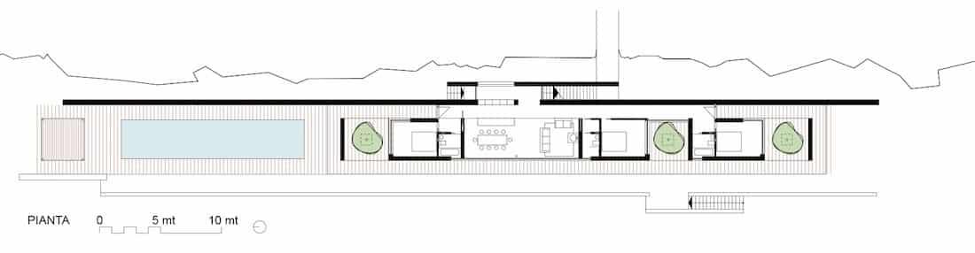 Corsaro Architetti progetto Casa Bellavista 03