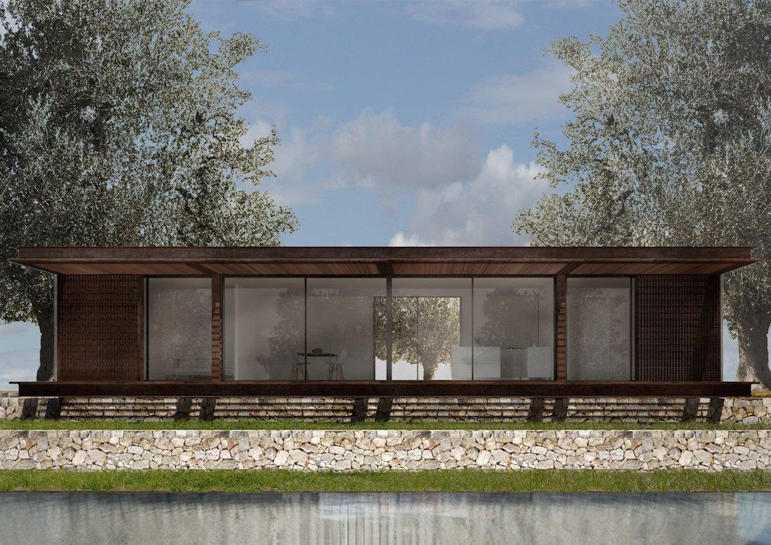 Corsaro Architetti progetto Casa Cinera 01