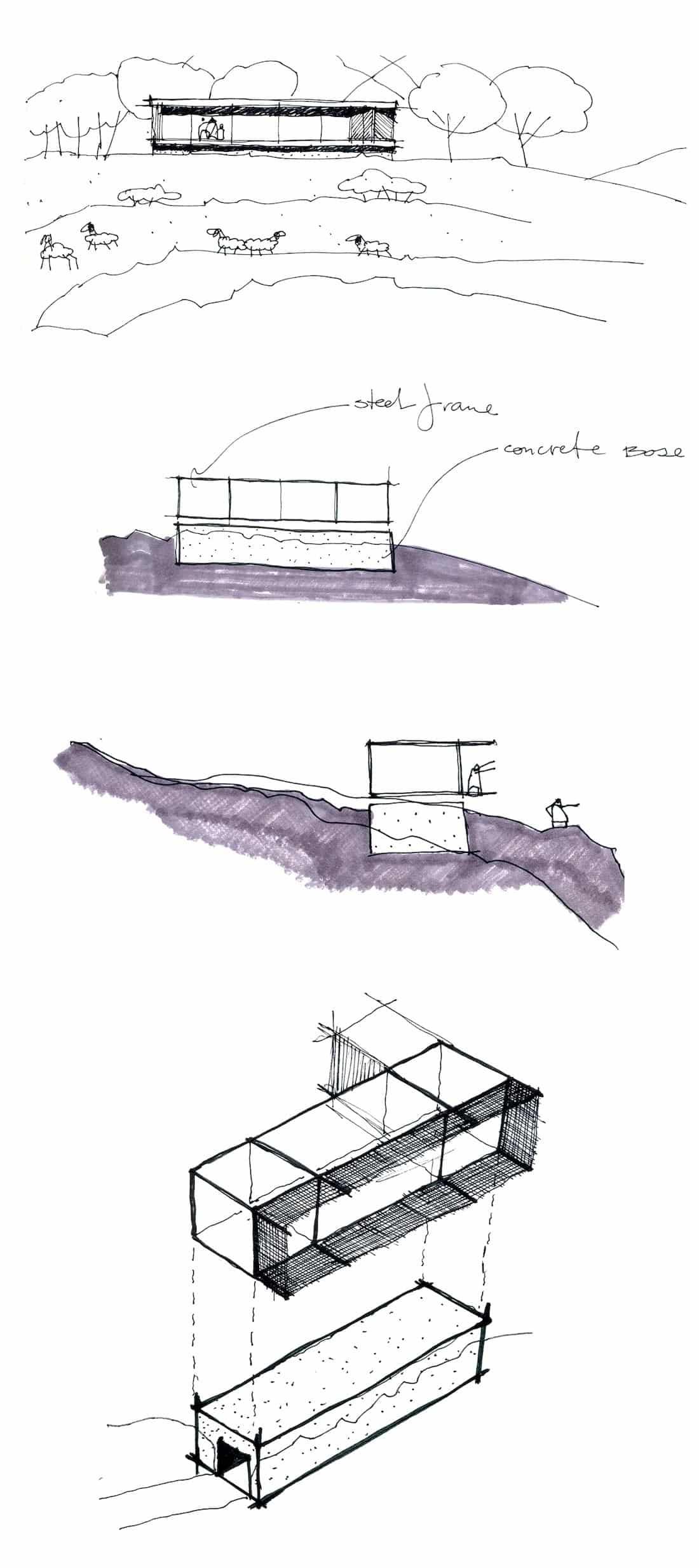 Corsaro Architetti progetto Casa Cinera 05