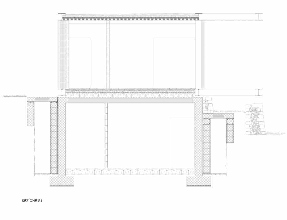 Corsaro Architetti progetto Casa Cinera 08