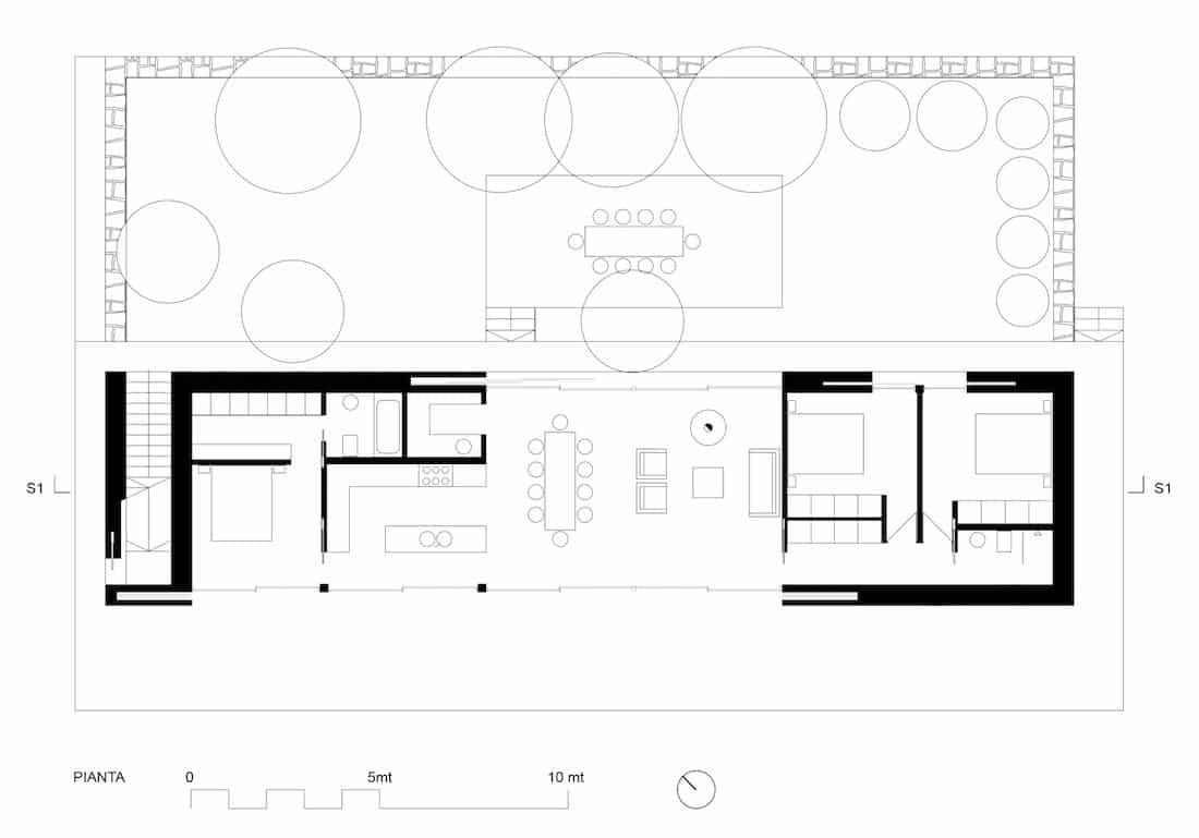 Corsaro Architetti progetto Casa M 101 11