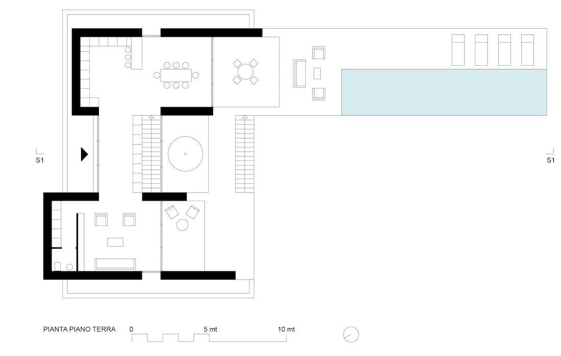 Corsaro Architetti progetto Casa San Benedetto 04