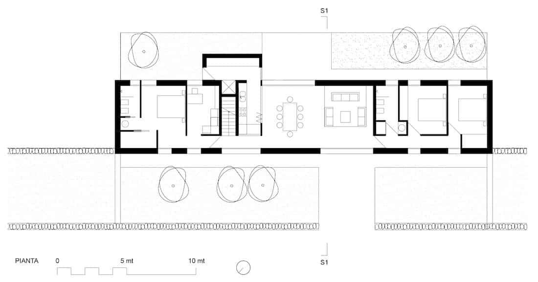 Corsaro Architetti progetto Casa Torres 03