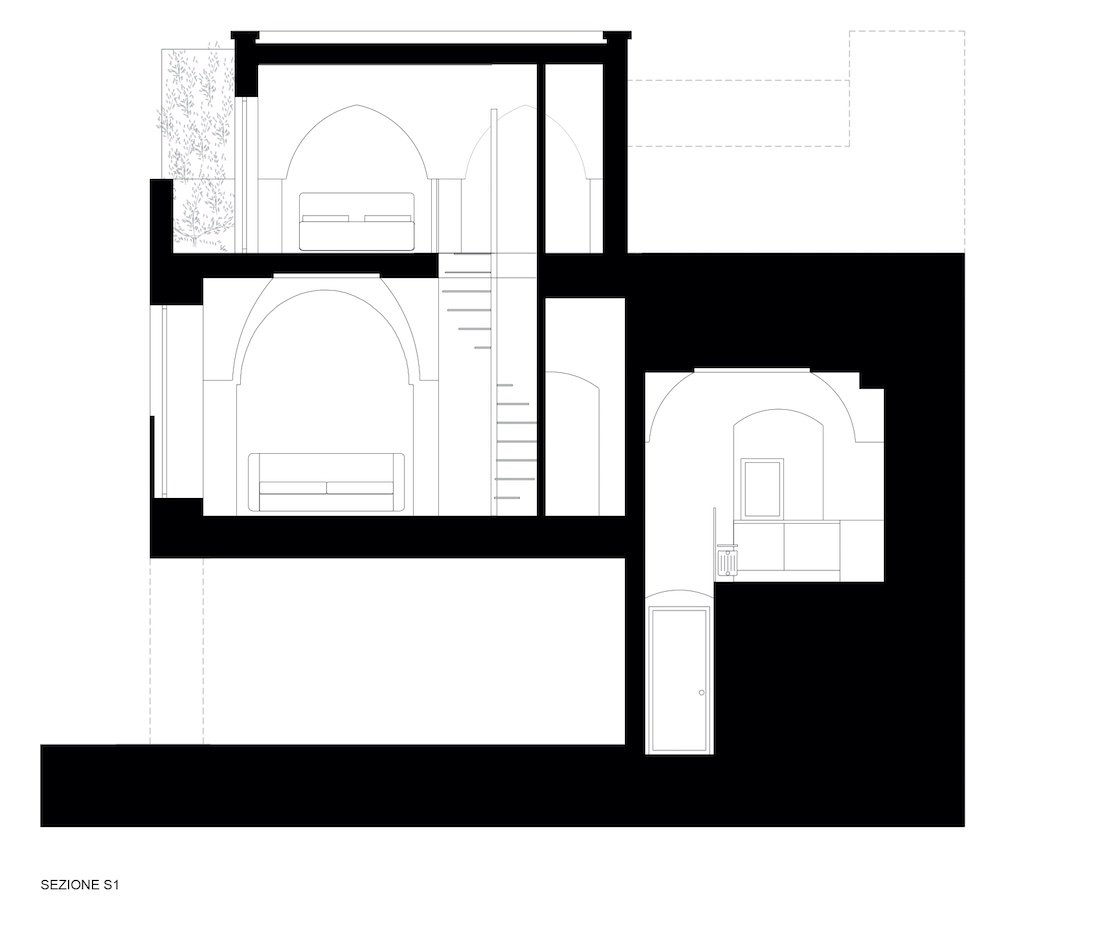 Corsaro Architetti progetto Casa Via Tarantini 13