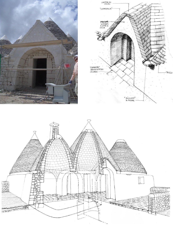 Corsaro Architetti progetto Masseria Calongo 03