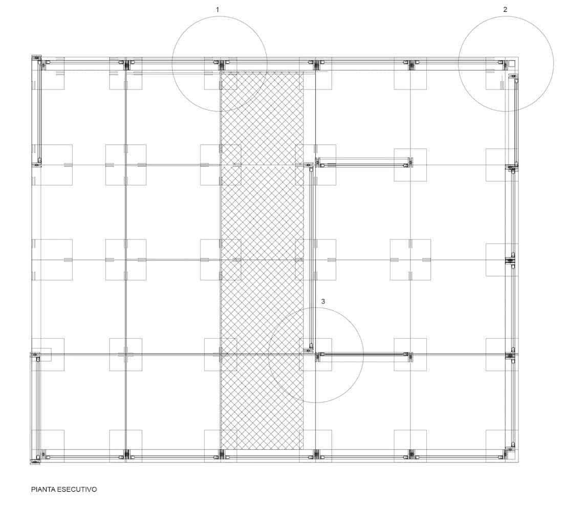 Corsaro Architetti progetto Padiglione fiera 11