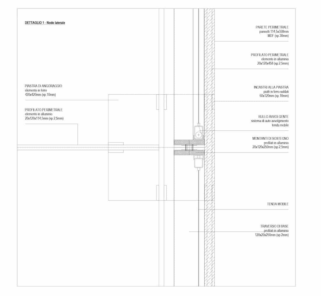 Corsaro Architetti progetto Padiglione fiera 12