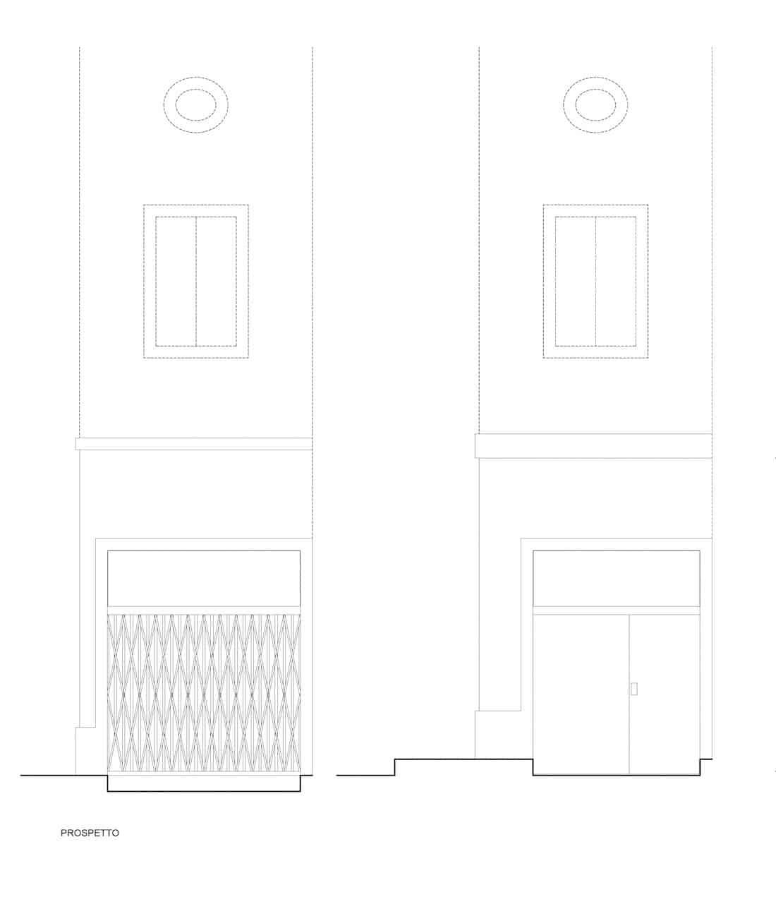 Corsaro Architetti progetto Ufficio privato 06