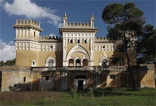 Corsaro Architetti progetto Villa Martini-Carissimo