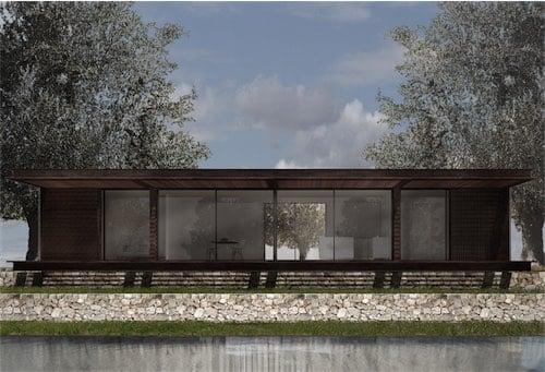 Corsaro Architetti progetto Casa Cinera