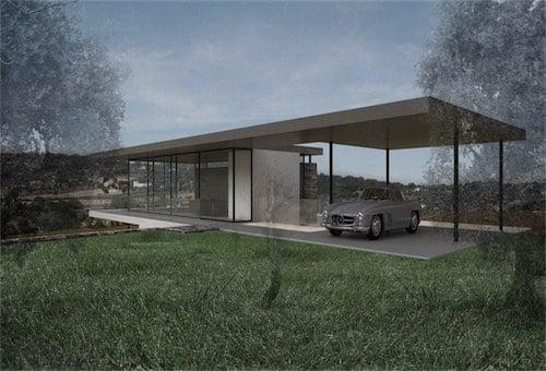 Corsaro Architetti progetto Casa Rebecca