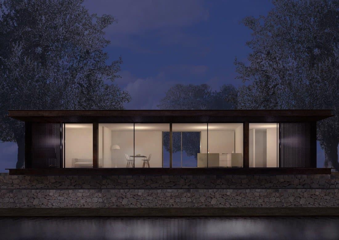 Corsaro Architetti progetto Casa Cinera 04