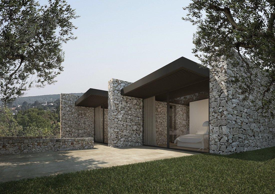 Corsaro Architetti progetto Casa K&C 01