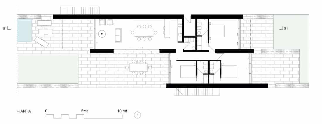 Corsaro Architetti progetto Casa K&C 09