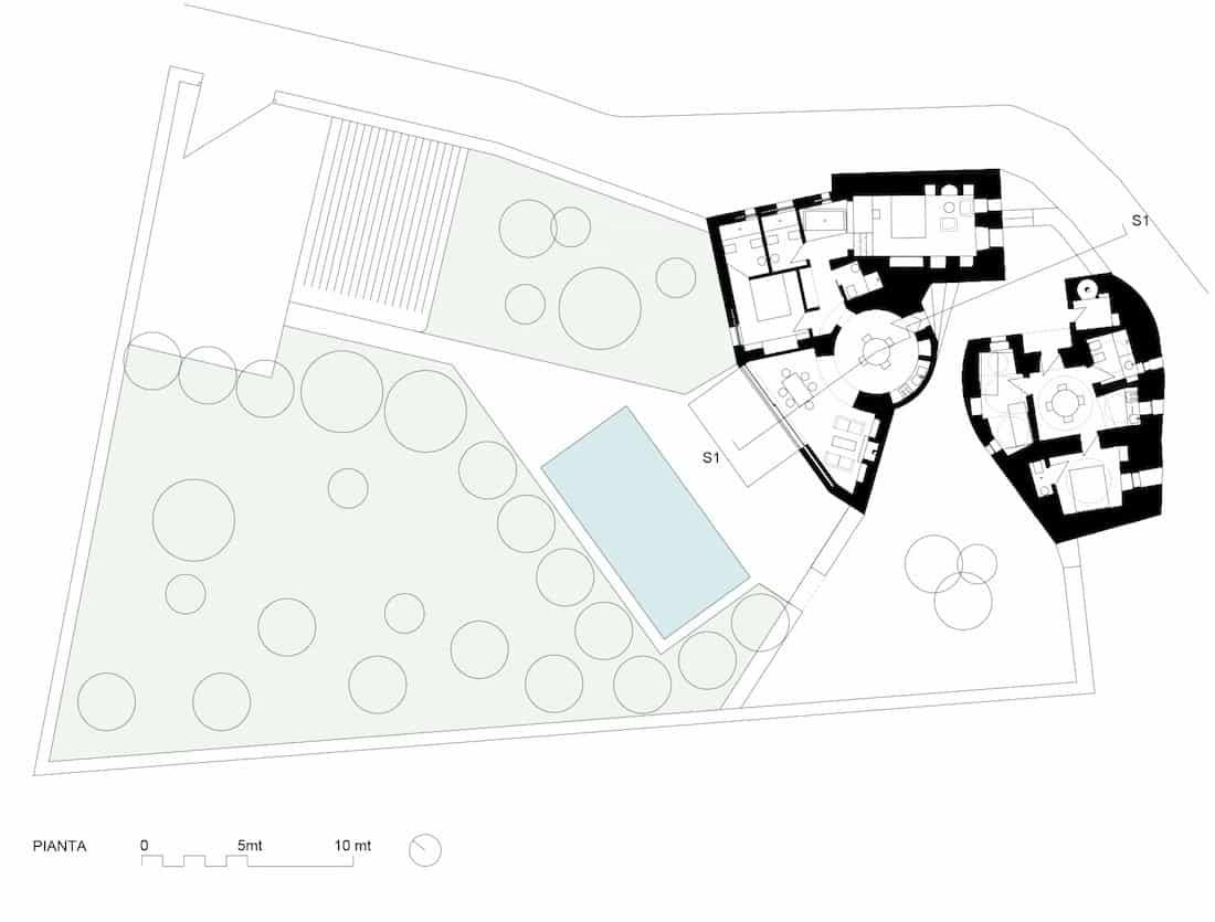 Corsaro Architetti progetto Casa Monaci 10