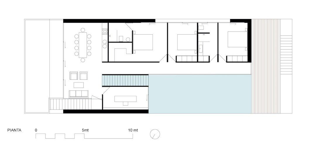 Corsaro Architetti progetto Casa Robe 07