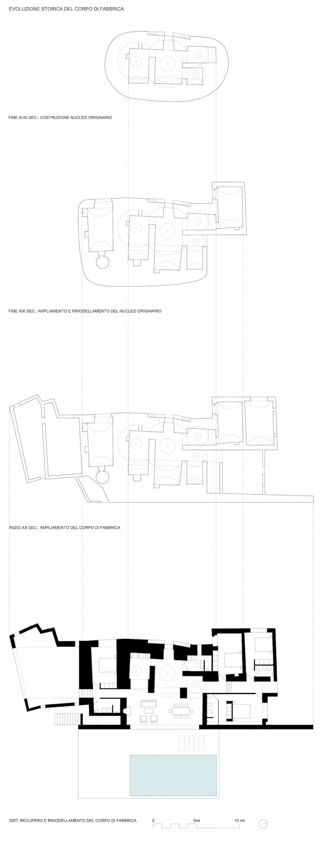 Corsaro Architetti progetto Casa Solari 09