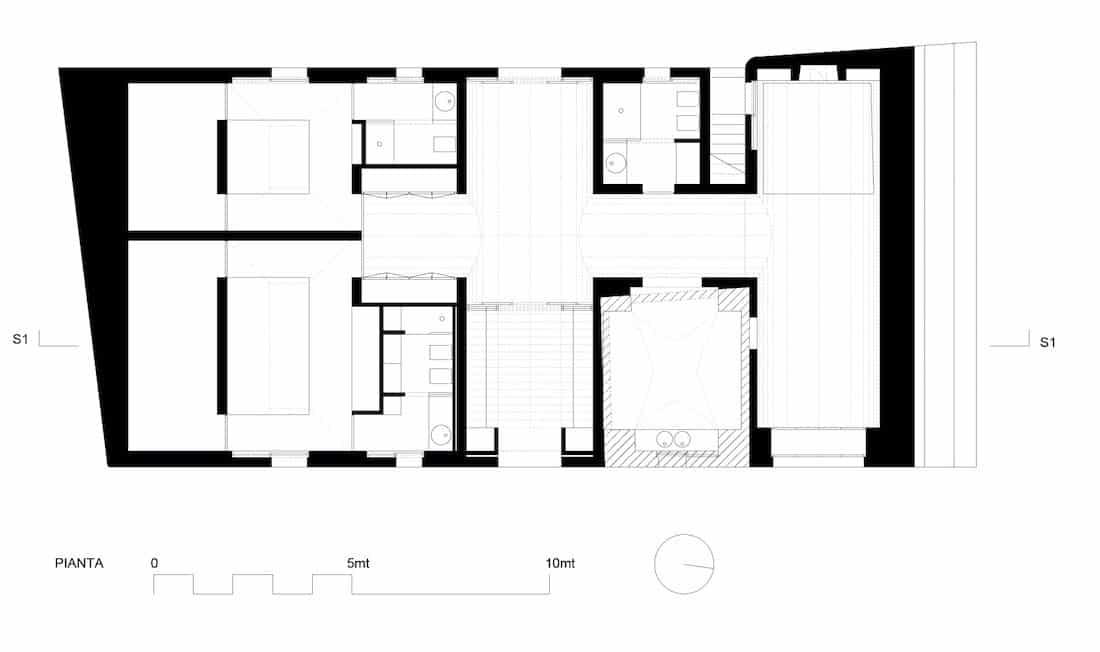 Corsaro Architetti progetto Casa Sorrentino 16