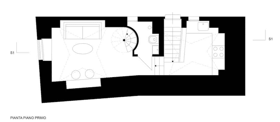 Corsaro Architetti progetto Casa Via Tarantini 11