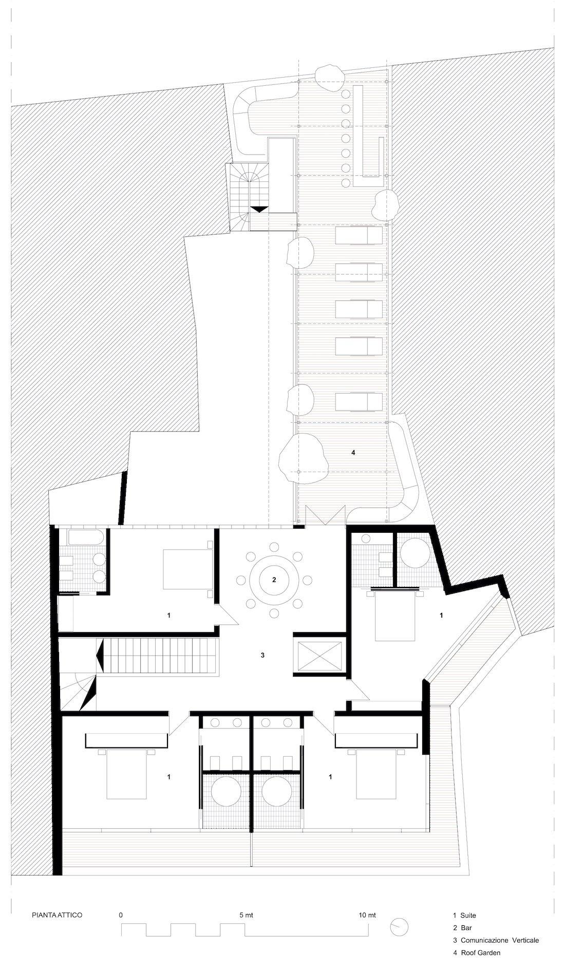 Corsaro Architetti progetto Hotel San Gaetano 02