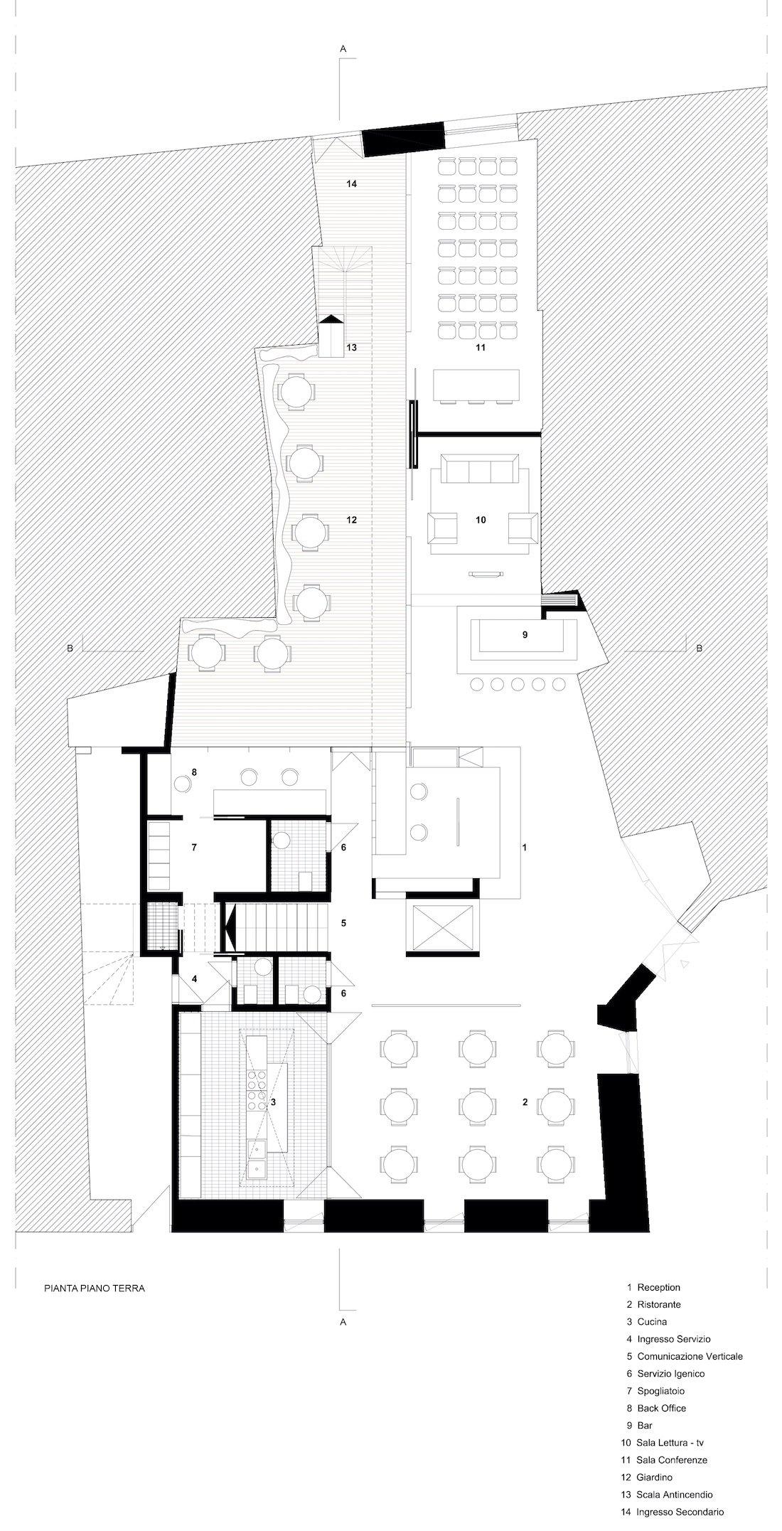 Corsaro Architetti progetto Hotel San Gaetano 04
