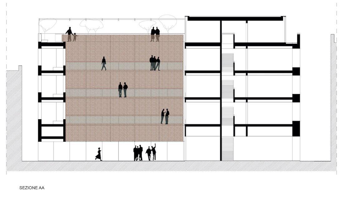 Corsaro Architetti progetto Hotel San Gaetano 05