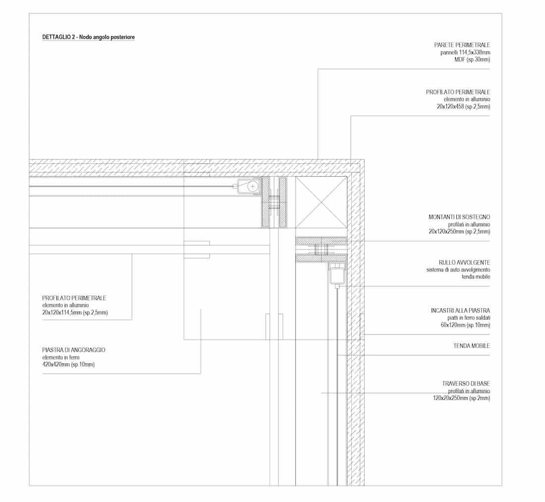 Corsaro Architetti progetto Padiglione fiera 13